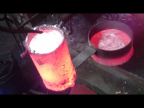 Расплавленный металл своими руками 699