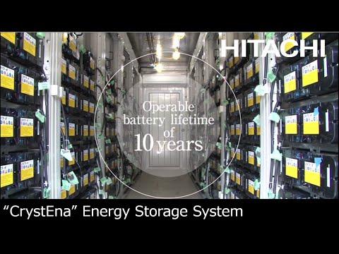 """CrystEna"" Hitachi's energy storage solution to support everyday life - Hitachi"