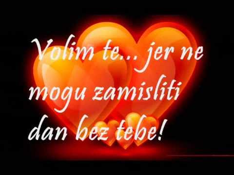 Volim te!!!