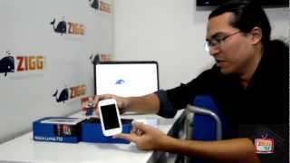 Unboxing do Nokia Lumia 710 - Zigg Tv