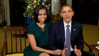 Weekly Address: The President and First Lady Extend a Holiday Greeting and Thank our Troops