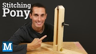 How to Make a Stitching Pony