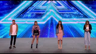 "Download Lagu Group 6 Cover ""Symphony"" But Who Will Stand Out? Bootcamp Day 1 The X Factor UK 2017 Gratis STAFABAND"