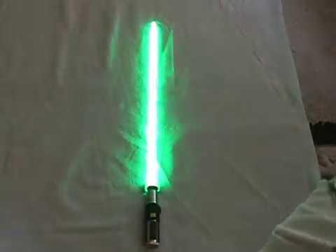 Master Replicas fx Lightsaber Yoda Yoda Force fx Lightsaber Video