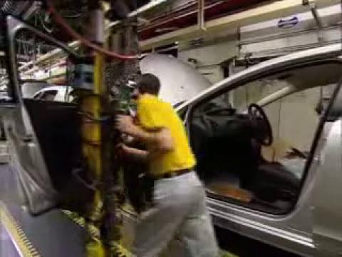 Fabricación del Citroën C4 en la planta de Mulhouse (Francia)