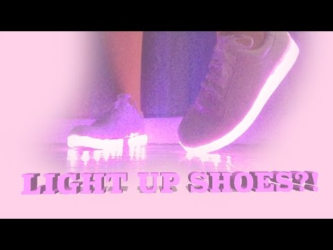 LIGHT UP SHOES?! (An Ebay Review)