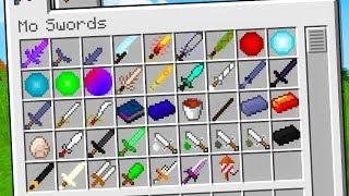 Minecraft ITA - QUESTE SPADE SI POSSONO MANGIARE!!