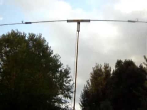 Portable dipole antenna project / WA4WKL QSL
