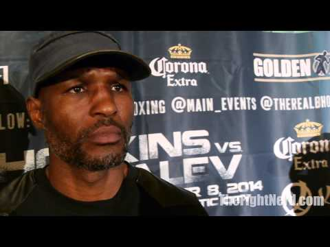 Bernard Hopkins hopes he is underdog against Kovalev compares his legacy to Jazz musicians