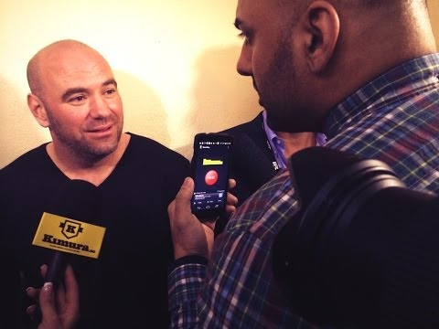 KammakazeTV:UFC Fight Night London Dana White Media Scrum