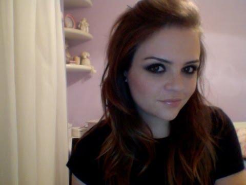 Make com K: olho preto da Avril Lavigne