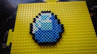 Minecraft Perler Bead Designs ep 7: How to make Diamond (Minecraft) using Perler Beads