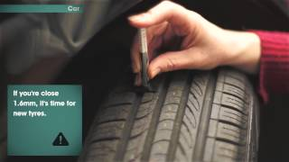How to check your tyre treads