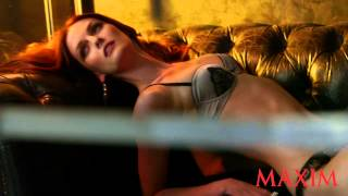 Go Behind The Scenes With Lydia Hearst At Her Sexy Maxim Photo Shoot