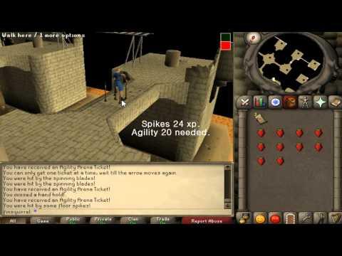 Runescape 2007 – Brimhaven agility arena