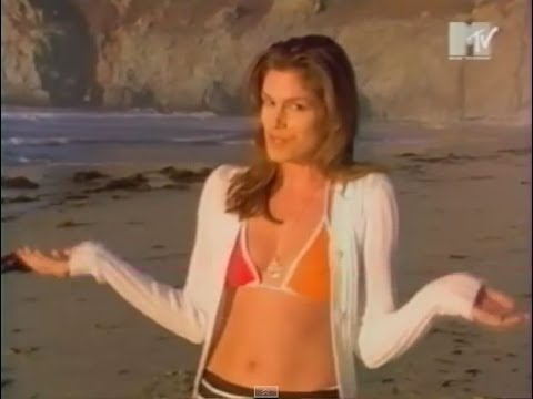 Cindy Crawford report on MTV 90's