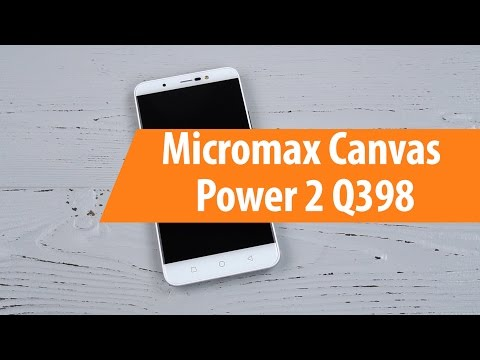 Распаковка Micromax Canvas Power 2 Q398 / Unboxing Micromax Canvas Power 2 Q398