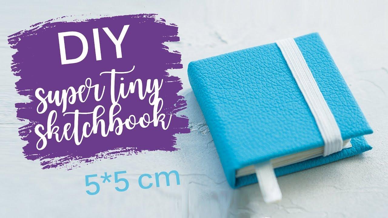 Как сделать скетчбук без сшивания