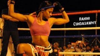 Ranini Cundasawmy - Mauritius Female Muay Thai, Savate, MMA Fighter - YouTube