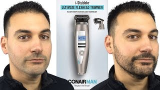 Beard Trimming - Conair I-Stubble vs Philips Norelco Series 5100