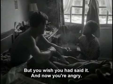 Breathless (1960) Hotel Scene - Jean Seberg  Jean-Paul Belmondo...