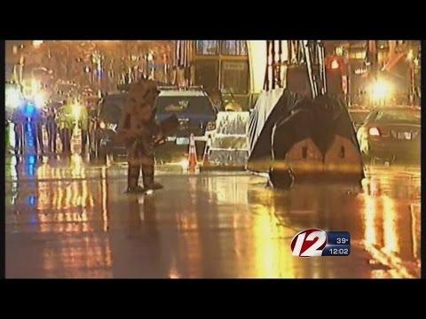 Boston bomb hoax suspect leaves bag at finish line