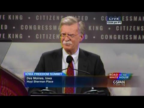 • Amb. John Bolton • Iowa Freedom Summit • 1/24/15 •