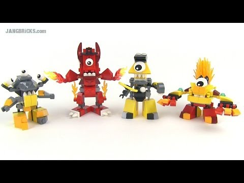 LEGO Mixels Series 1 Mix & Murp combinations!