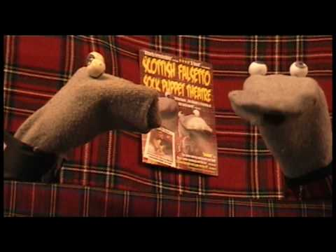 50 Pub jokes in 4 minutes - Scottish Falsetto Sock Puppet Theatre