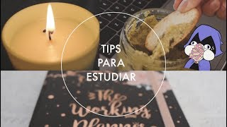 Tips para ayudarte en tus estudios diarios  | Tips to help with your studies each days