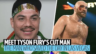Tyson Fury's cut man reacts to The Gypsy King's DEEP cut against Otto Wallin