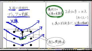 高校物理解説講義:「X線」講義8