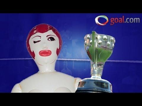 Sex Doll Shakira Joins Real Madrid Celebrations! video