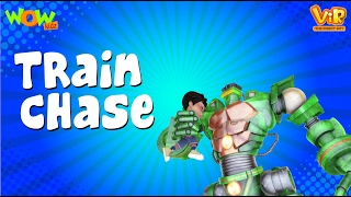 The Train Chase - Vir : The Robot Boy WITH ENGLISH, SPANISH & FRENCH SUBTITLES