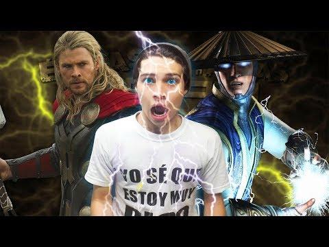 Thor vs Raiden. Épicas Batallas de Rap del Frikismo ¡Bonus! Keyblade ft. Xenon (REACCIÓN) thumbnail