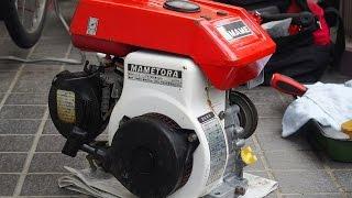 サンポール 驚異のサビ取り効果! 老朽エンジンのフライホイールで検証