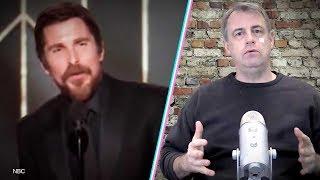 Christian Bale Thanks Satan In Golden Globe Acceptance Speech   Kurt Schlichter