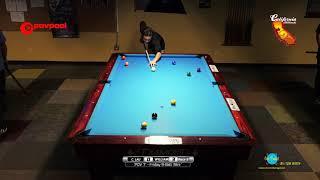 #1 - Jared WILLIAMS vs Cliff LAU / 'POV7', 9-Ball Tournament