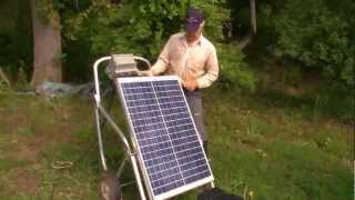 Full Belly's Solar Water Pump for Livestock