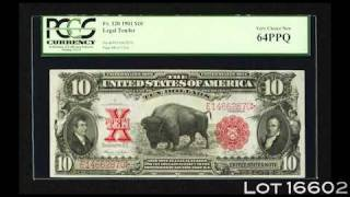Heritage 2011 January Tampa FUN Signature Currency Auction