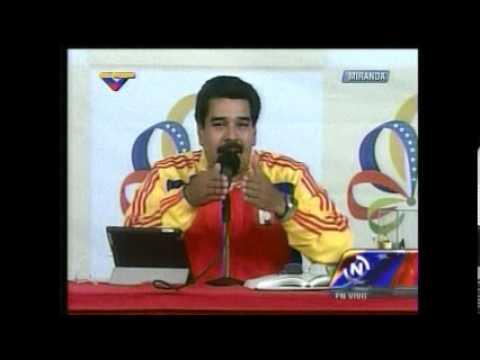 """Según Maduro, Cristo """"multiplicó los penes"""""""