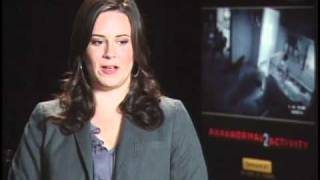Paranormal Activity 2 - Exclusive: Katie Featherston Interview
