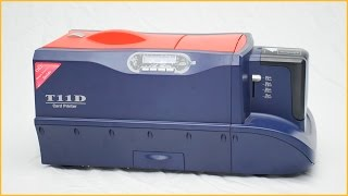 Double side plastic id card printer id card printer machine