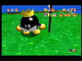 King Bob-omb races Koopa the Quick in Super Mario 64