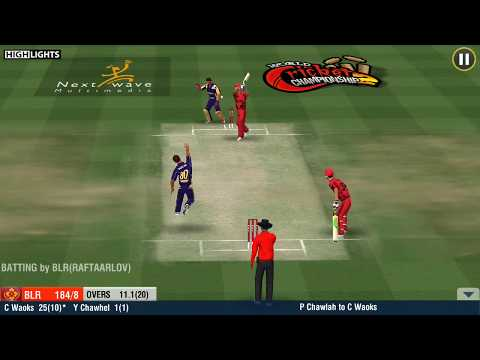 W.C.C.2 __(RCB vs KKR) || IPL || MATCH 6 | Highlights