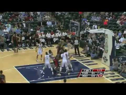 NBA Toronto Raptors vs Indiana Pacers | Monday, April 9, 2012 | L 98 - 103 Highlights