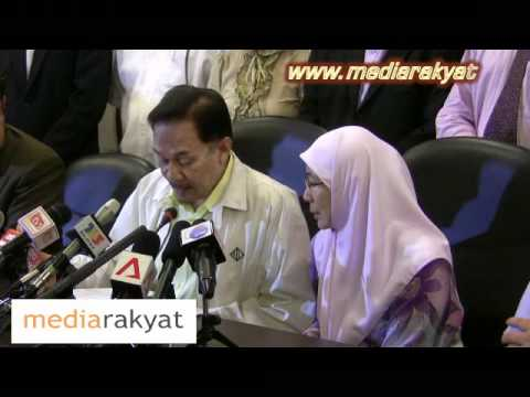 Anwar Ibrahim: Press Conference On Alleged Sex Video 21/03/2011 (Part 1)