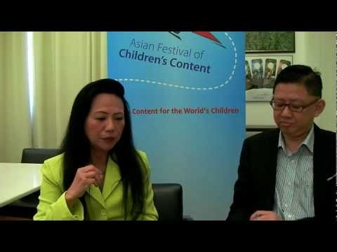 Asian Festival of Children's Content 2012 with Claire Chiang, Chairman of AFCC shares insights