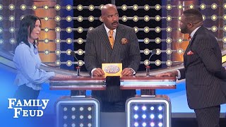 Would you let your man get away with THIS? Even ONCE? | Family Feud