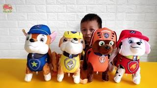 Mainan Paw Patrol - Belajar Berhitung dan Mengenal Warna - Unboxing Mainan anak laki laki